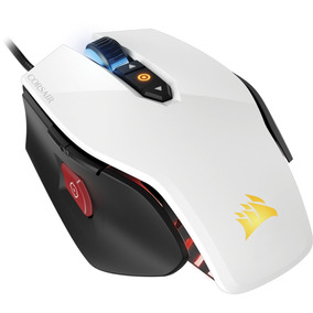 Mouse Gamer Corsair M65 Pro 12000 Dpi Branco