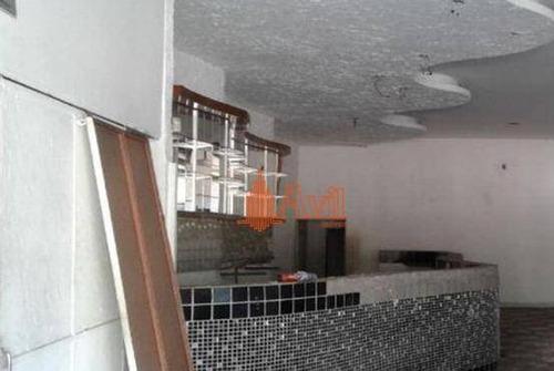 Salão Comercial 395m² Aú., Excelente Localização - Sl0139
