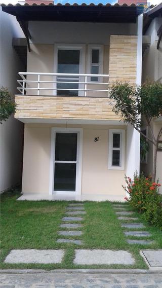 Sobrado Residencial À Venda, Lagoa Redonda, Fortaleza. - Codigo: Ca0060 - Ca0060