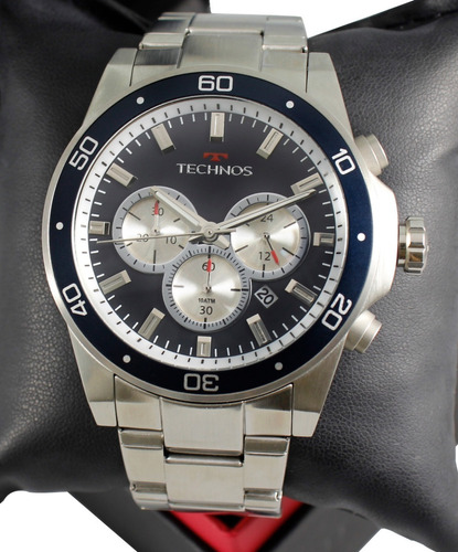 Relógio Technos Masculino Skymaster Js25by/1p