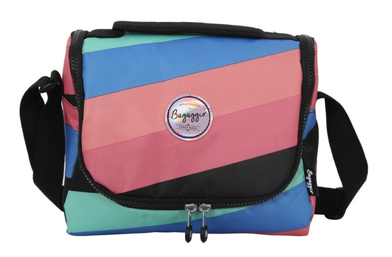 Lancheira Rainbow Listrado 19j