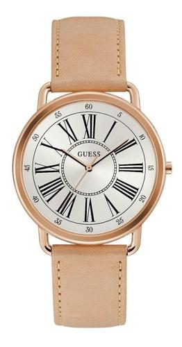Relógio Guess Feminino Rosê Couro 92701lpgtrc1