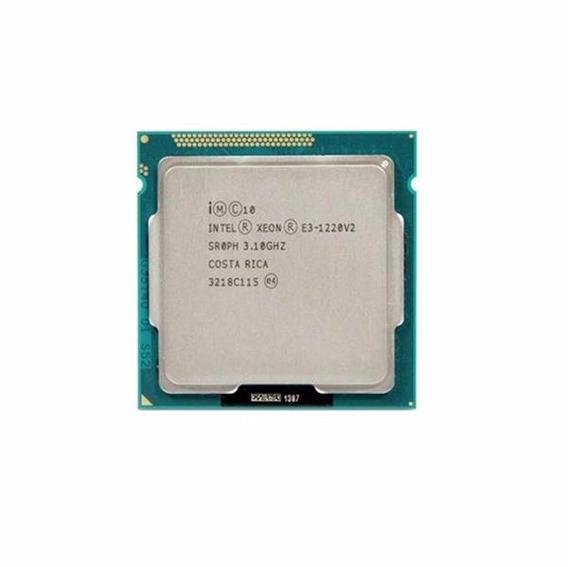 Processador Intel Xeon E3 1220 V2 3.10ghz 8m 1155 Sr0ph