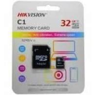 Cartão Mem Micro Sd Hikvision 32gb + 1 Adpt. Class 10