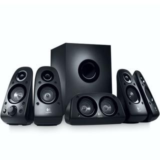 Logitech Z506, Parlantes 5.1 Sonido Envolvente, 75 Watts Rms