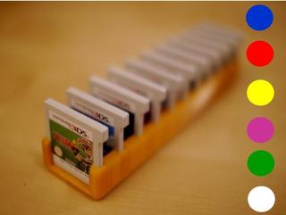Estojo Para 11 Jogos Nintendo 3ds Ds Game Card Box Case