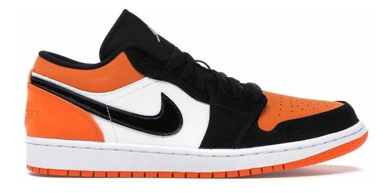 Sneakers Original Jordan 1 Low Shattered Backboard Naranjas