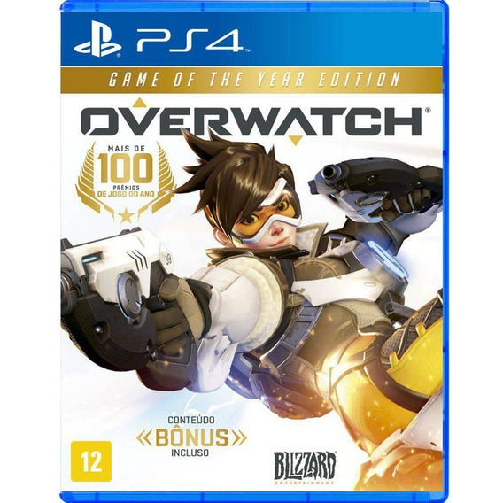 Jogo Overwatch: Game Of The Year Edition Ps4 Compre Aqui!