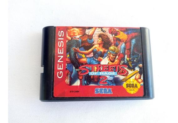 Cartucho Sega Genesis Streets Of Rage 2