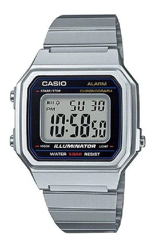Relógio Casio Vintage Prata