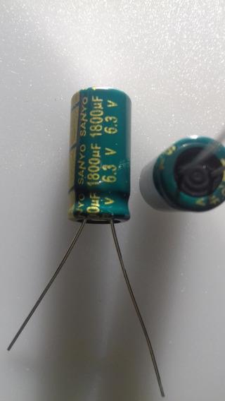 Eletrolítico 1800uf 6,3v Envio Por Carta Registrada