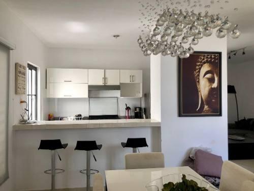 Hermosa Casa Amueblada 2 Recámaras En Cataluña Playa Del Carmen P2993