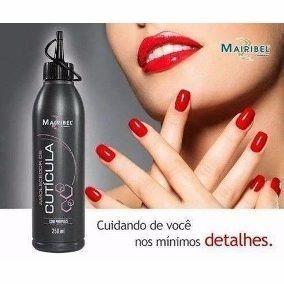 Amolecedor De Cutículas Mairibel 250ml De Manicure Creme