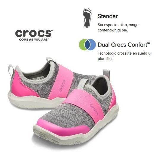 Zapatillas Crocs Originales - Swiftwater Easy On Shoe Kids
