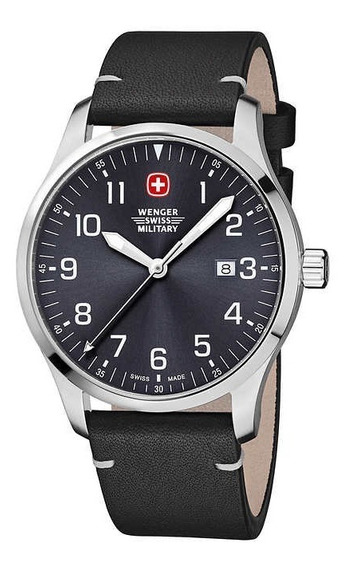 Relogio Masc Wenger Swiss Military Avenue Field Watch- Novo