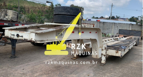 Imagem 1 de 9 de Carreta Prancha 3 Eixos Lagartixa Rondomix 2012