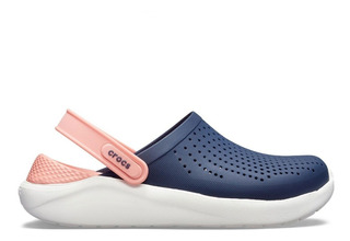 Crocs Literide Clog Relaxed Fit Navy Melon