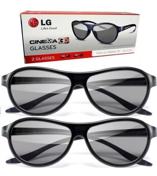 Óculos 3d Passivo Tv Lg Ag-f310 Lm Lw Cinema 3d