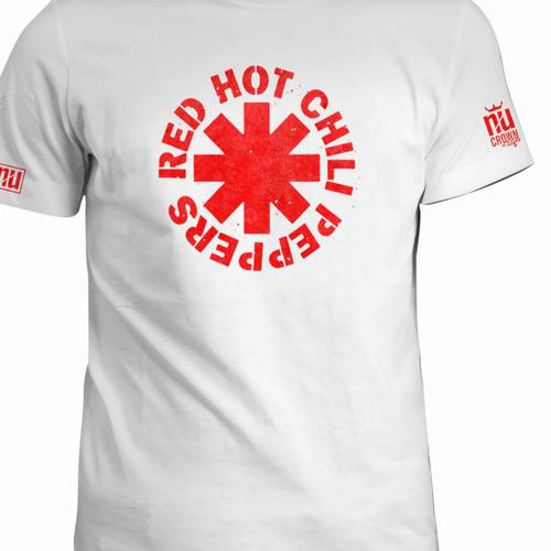 Camisetas Red Hot Chili Peppers Estampadas Rock Hombre Eco