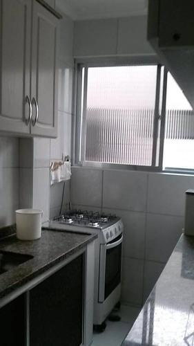 Apartamento Com 2 Dormitórios À Venda, 62 M² Por R$ 220.000,00 - Tupi - Praia Grande/sp - Ap0266