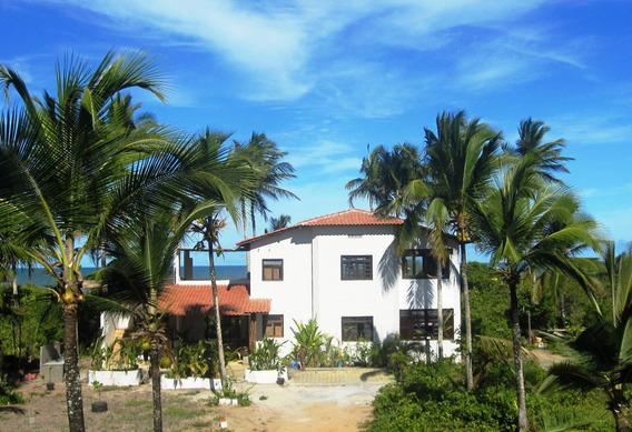 Casa Frente Praia, Aluguel Por Semana - Canavieiras Bahia