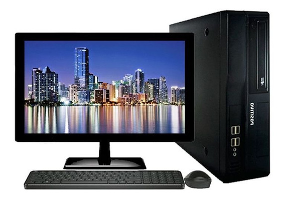 Computador Positivo Intel I5 3°geração 8gb Ssd 120gb