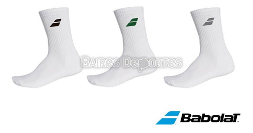 Medias Babolat Team Flag Pack X 3 Talle L Tenis Padel Deport