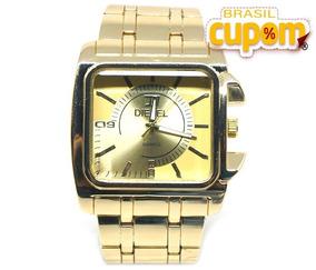 Relógio Analógico Dsl Dourado