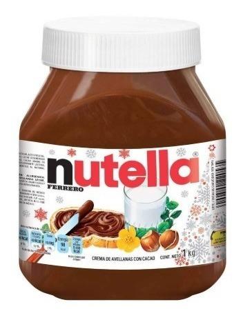 Nutella Crema De Avellanas Con Cacao, Frasco De 1kg