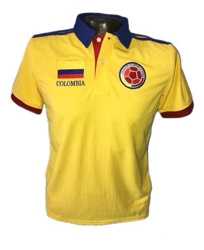 Camiseta Tipo Polo Colombia