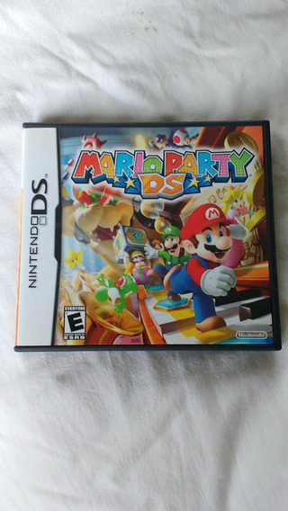 Mario Party Ds 3ds 2ds Original Completo