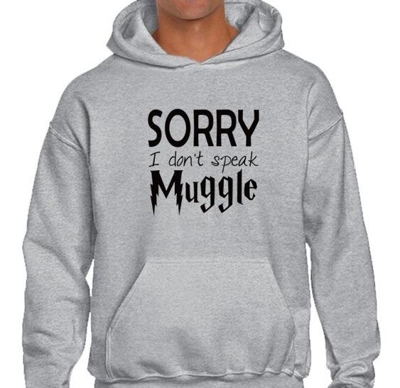Sudadera Harry Potter Sorry I Don