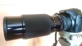 Porst Tele-zoom Mc-ot Auto M 75-205mm F/3.5-22 Sony E-mont