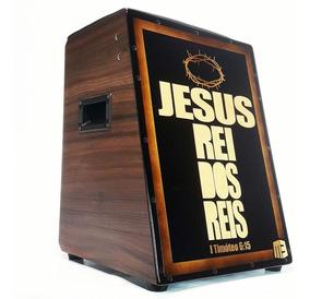 Cajón Elétrico Student Jesus Rei Dos Reis Profissional + Bag