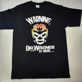 Playera Dr. Wagner, Luchador Mexicano