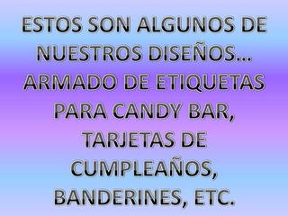 Kit Plantillas Candy Bar Personalizados Listos Para Imprimir