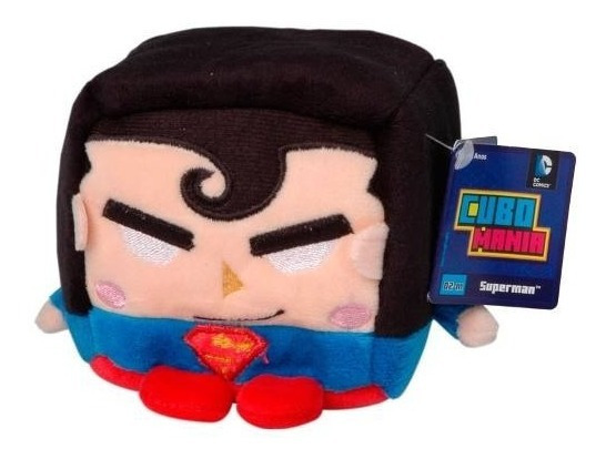 Cubo Mania - Super Homem - Super Man - Pelucia Média