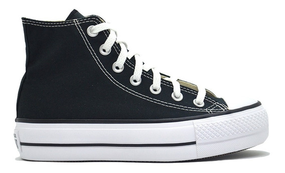 Zapatillas Converse Botita All Star Lift Hi Moda Asfl70