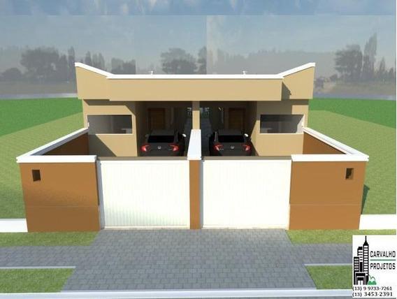 Casa Nova Com Piscina No Litoral