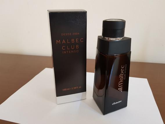 Frasco Vazio Perfume Malbec Club Intenso Boticário 100ml