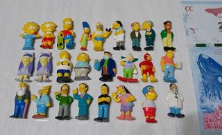 Coleccion Completa Los Simpsons Chocolatin Jack 2004