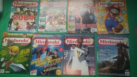 Revistas Nintendo World Lote ( N` 65,66,67,70,71,72,81,84)