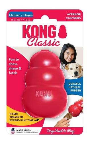 Imagen 1 de 7 de Juguete Perro Kong Classic Medium