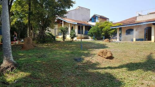 Imagem 1 de 7 de Chácara Com Terreno Plano Centro De Atibaia - 674