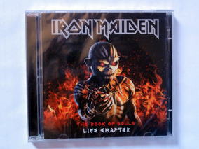 Cd Duplo Iron Maiden The Book Of Souls Live Chapter Lacrado!