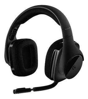 Auricular Headset Logitech G533 Usb 7.1 Mic Wireless Cuotas