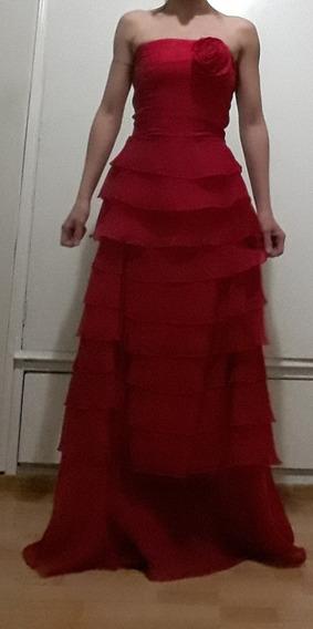 Vestido De Fiesta Largo Marca Brodery