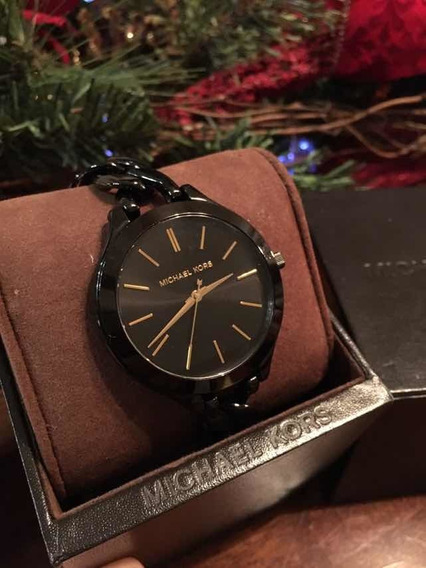Reloj Original Michael Kors Semi Nuevo De Acero Inoxidable