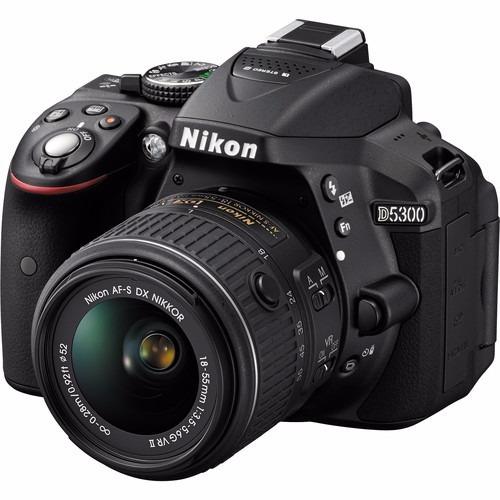 Câmera Nikon D5300 24.2mpc/ Obj 18-140mm