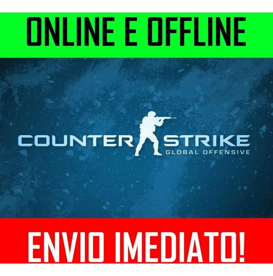Cs Go Counter Strike: Global Offensive Pc Jogo Completo